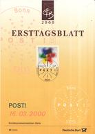 West-Duitsland - Ersttagsblatt - 17/2000 - Post! - Michel 2106 - Post