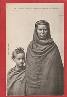 CPA: Mauritanie - Femme Et Enfant Type Maure (Fortier N°14) - Mauritanie