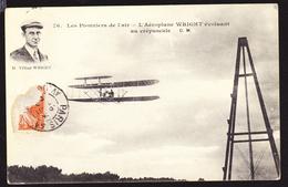 LES PIONNIERS DE L'AIR - WRIGHT évoluant Au Crépuscule - Airmen, Fliers