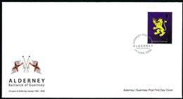Alderney Aurigny 2008 Yvertn° 339 Micheln° 338 (o) Oblitéré Cote 20 Euro  FDC - Alderney
