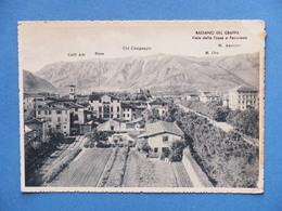 Cartolina Bassano Del Grappa - Vialle Delle Fosse E Panorama - 1940 - Vicenza