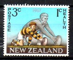 NOUVELLE-ZELANDE. N°463 Oblitéré De 1967. Rugby. - Rugby