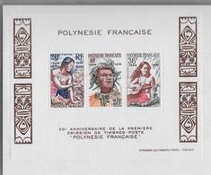 Bloc Feuillet Polynésie - Blocs-feuillets