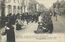 Lebbeke,  -   Luisterrijke Jubelfeesten De Processie  (Met Kreuk) - Lebbeke