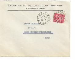 Timbres Sur Lettre - 1939-44 Iris