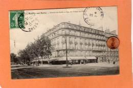 CPA * * NEUILLY-SUR-SEINE * *  Avenue Du Roule Et Rue De L'Hôtel-de-ville - Neuilly Sur Seine