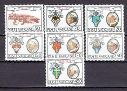 Vatican Série 678-684 - MNH - Vatican