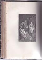 Livre Signé En 1908 À Rennes - Imitation De Jésus-christ. F. DE LAMENNAIS  - Dos Reliure Cuir Avec Lettre Dorure - Books, Magazines, Comics
