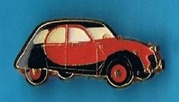 PIN'S //  ** 2 CV CITROËN / DEUDEUCHE / CHARLESTON ** - Citroën