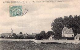 """V14719 Cpa 37 Joué Lez  Tours - Vue Partielle Et Villa """" La Fontaine """" - Unclassified"""