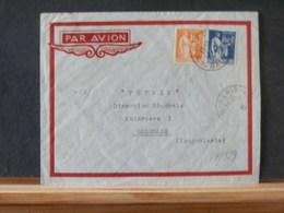 77/529   LETTRE POUR YOUGOSLAVIE  1936 - 1932-39 Paix