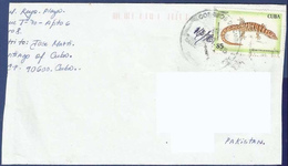 POSTAL USED AIRMAIL COVER TO PAKISTAN - Poste Aérienne