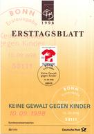 West-Duitsland - Ersttagsblatt - 32/1998 - Keine Gewalt Gegen Kinder - Michel 2013 - [7] West-Duitsland
