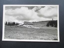 AK Echtfoto 1938 Gasthof Und Pension Todtnauerhütte Inh. E. Kunz, Feldberg Im Schwarzwald - Hotels & Gaststätten