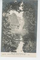 """VILLENEUVE L'ETANG - TABLEAUX - SALON 1910 - """"Villeneuve L'Etang Embrumé """" - Par HENRI BIVA - France"""