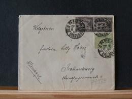 77/539    LETTRE  POUR ALLEMAGNE - 1876-1898 Sage (Type II)