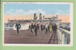 ATLANTIC HIGHLANDS : Mandalay And Pier. 2 Scans. Edition Katz - Atlantic City