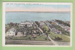 ATLANTIC HIGHLANDS : View From Ocean Boulevard. 2 Scans. - Atlantic City