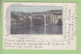 WATTAMOLLA : Waterfalls, National Park. Dos Simple. 2 Scans. - Australie