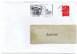 CORREZE - Dépt N° 19 = TULLE CDIS 2006 = FLAMME Type II = SECAP Illustrée D'un ACCORDEON - Postmark Collection (Covers)