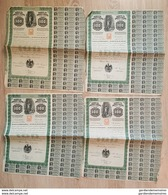 Accion 4 X  Banco De Londres Y Mexico, 1905 - Banque De Londres Et De Mexico - Timbre Entier Postal - Bank & Insurance