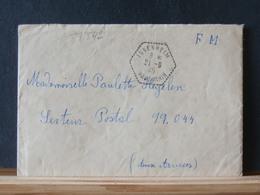 77/542   LETTRE  POUR AUX ARMEES  1945 DE ISSENHEIM  AVEC CONTENU - France