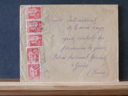 77/543   LETTRE  POUR LA SUISSE  1940 - France