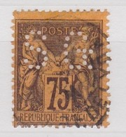 FRANCE  YT N° 99 SAGE II PERFORE SG - Perforés