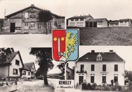 REMILLY - MOSELLE   (57)   -  CPSM MULTIVUES DENTELÉE 1962. - Altri Comuni