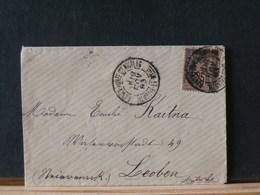 77/548 LETTRE   POUR AUTRICHE  1883 - 1876-1898 Sage (Type II)