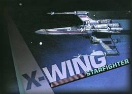 """Entier Postal De 2007 Sur Carte Postale Avec Timbre Et Illustration """"Star Wars - X-WING STARFIGHTER"""" - Entiers Postaux"""