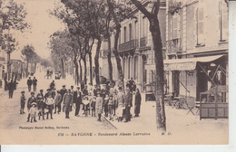 PAYS BASQUE -  BAYONNE - Boulevad Alsace Lorraine - Bayonne