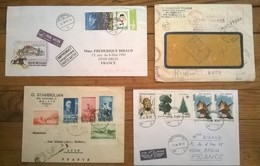 Lot De 4 Enveloppes Timbrées POSTA ROMANA ROMANIA - Romania