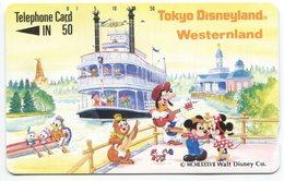 1850 - Tokio Disneyland Japan Comic Telefonkarte - Disney