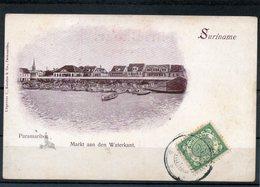 Paramaribo-4 Cpa Avant 1904 - Surinam