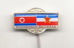 NORTH KOREA-YUGOSLAVIA FRIENDSHIP - Administrations