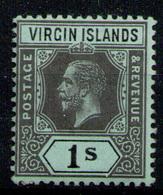 BRITISH VIRGIN ISLANDS 1913 - From Set MH* - Iles Vièrges Britanniques