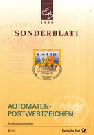 West-Duitsland - Ersttagsblatt - S/1999 - Freimarke: Postemblem - Michel 3,2 - [7] West-Duitsland