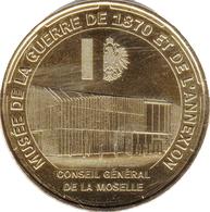 57 GRAVELOTTE MUSÉE DE GUERRE DE 1870 MÉDAILLE MONNAIE DE PARIS 2014 JETON MEDALS TOKEN COINS - Monnaie De Paris