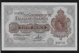 Falkland -  50 Pence - Pick N°10b - NEUF - Falkland