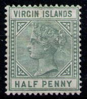 BRITISH VIRGIN ISLANDS 1883 - From Set MH* - British Virgin Islands