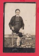 234406 / BULGARIA REAL PHOTO - FOLK NATIONAL  COSTUME OLD MAN MACEDONIA - Dogana