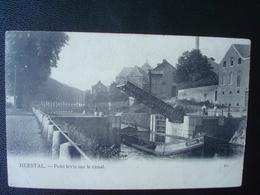 HERSTAL : Pont Levis Sur Le Canal En 1905 - Herstal