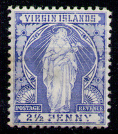 BRITISH VIRGIN ISLANDS 1899 - From Set MH* (light Spot Of Transparency) - British Virgin Islands