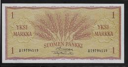 Finlande -  1 Markka - Pick N°98 - NEUF - Finlande