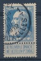 """Nr 76 - Grove Baard - Cachet  """"BRUSSEL-1-BRUXELLES"""" Litt. T - (ref. ST-810) - 1905 Thick Beard"""