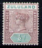 ZULULAND 1894 - From Set MH* - Zululand (1888-1902)