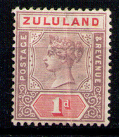 ZULULAND 1894 - From Set MH* (light Vertical Crease) - Zululand (1888-1902)