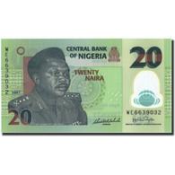 Billet, Nigéria, 20 Naira, 2007, 2007, KM:34c, NEUF - Nigeria