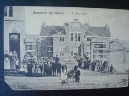 HERVE : L'abattoir Avant  1906 - Herve